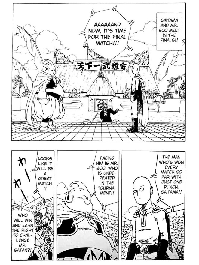 Read The One Punch Man and Dragon ball Manga – Martial Arts Tournament