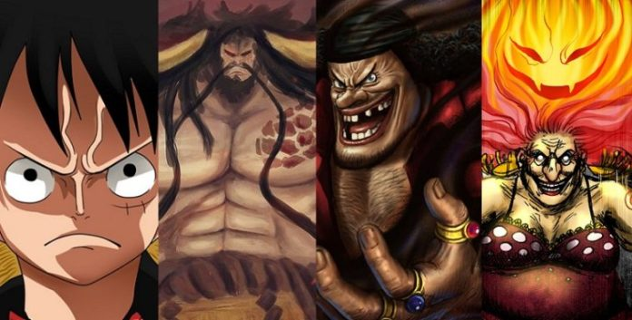 Kaido vs Luffy and Big Mom vs Blackbeard