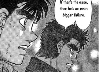 Hajime no Ippo 1231 RAW *spoilers*