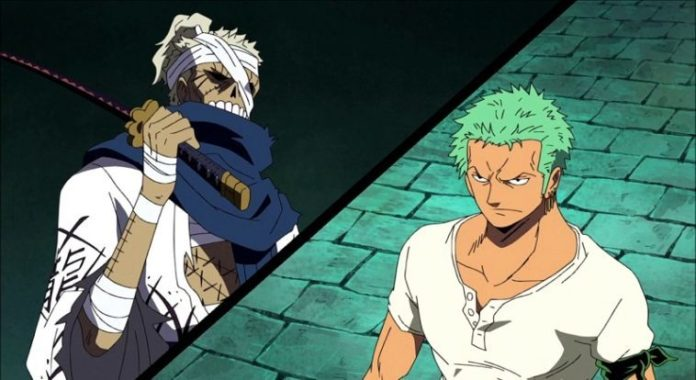 ZORO, THE DESCENDANT OF THE LEGENDARY SAMURAI RYUMA