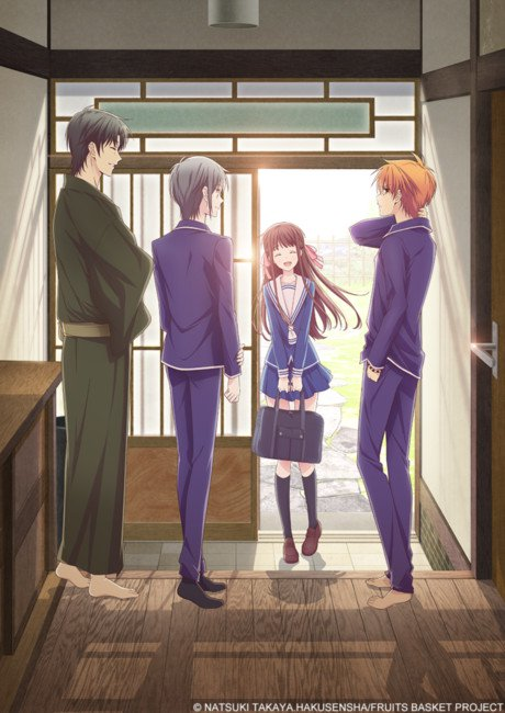 Funimation Reveals Cast, Staff, Streaming for New 2019 Fruits Basket TV Anime