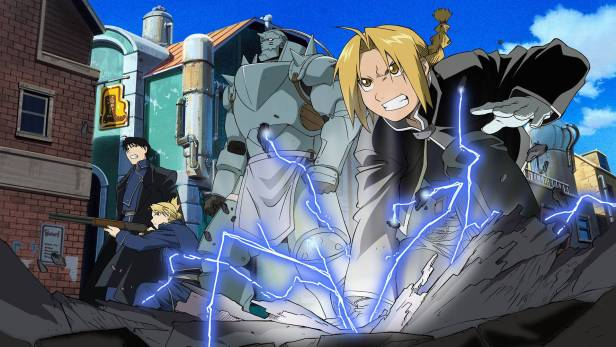fma brotherhood anime