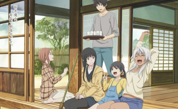 the flying witch anime