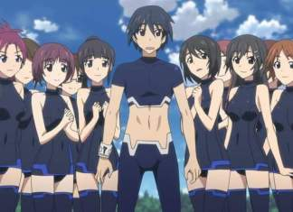 infinite stratos anime harem