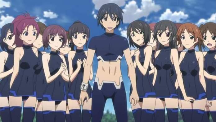 infinite stratos anime harem
