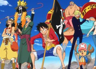 One Piece Strawhats Crew