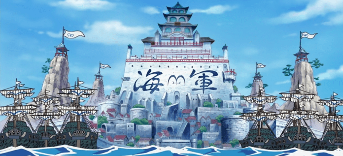 One Piece Marineford Navi HQ