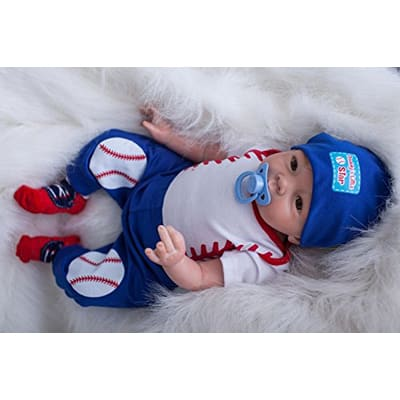 6. ICradle Real Life 22-inch 55cm Reborn Baby Doll