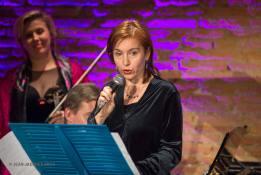 Lecture à voix haute - Soirée de Gala à l'Orangerie de Rochemontès - 20/11/2016 ©Jean-Jacques Ader