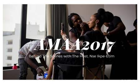 Nse Ikpe-Etim at AMAA 2017