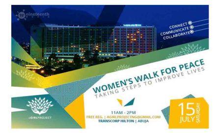 women's walk for peace
