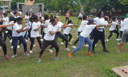 EMAC walk for cervical cancer