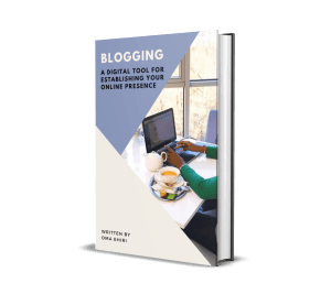 an e-book on blogging