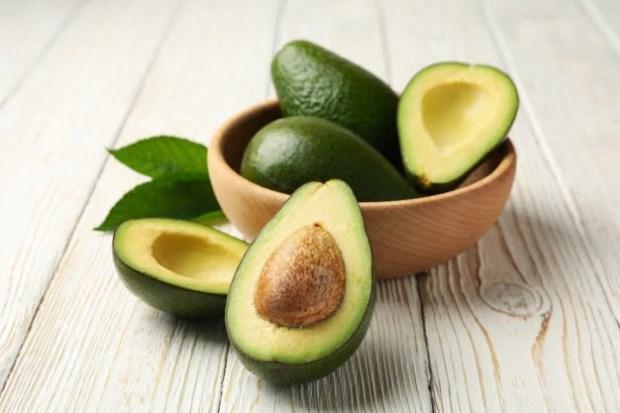 bowl of fresh avocado