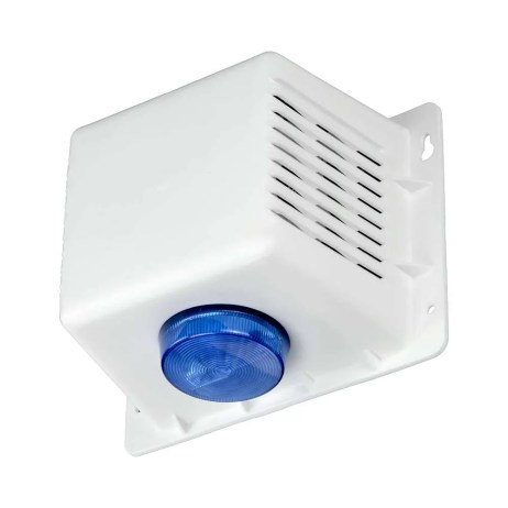 A BSC-03 Outdoor Strobe Siren for any Security System / SPL(1m)102dB / Steady & Wable(three wires) Tone
