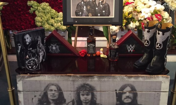Lemmy Kilmister of Motörhead Laid to Rest