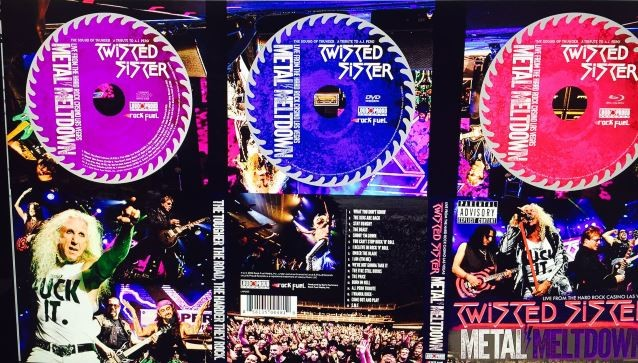 TWISTED SISTER: 'The Price' Performance Clip From 'Metal Meltdown' DVD