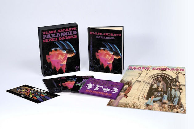 BLACK SABBATH: Unboxing Video For Super Deluxe Edition Of 'Paranoid'