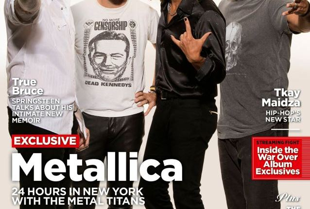 METALLICA's JAMES HETFIELD On His Relationship With LARS ULRICH: 'We're A Good Team'