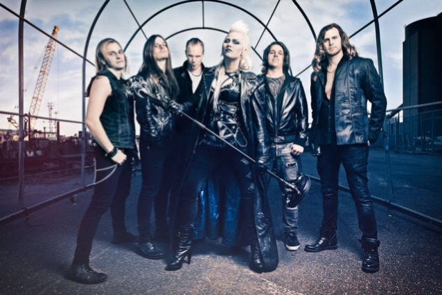 Video Premiere: BATTLE BEAST's 'King For A Day'