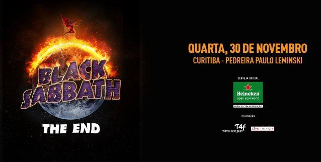 BLACK SABBATH: Quality Video Footage Of Curitiba Concert