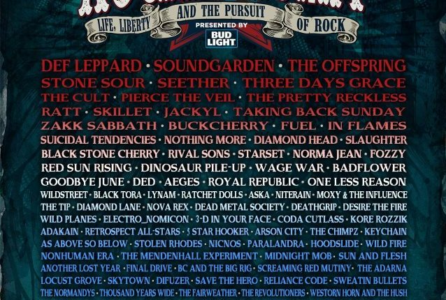SOUNDGARDEN, DEF LEPPARD, THE OFFSPRING, STONE SOUR, RATT Among Confirmed Bands For ROCKLAHOMA