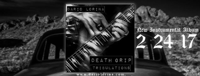 BLACK LABEL SOCIETY Guitarist DARIO LORINA Releases Video For 'Death Grip Tribulations' Title Track