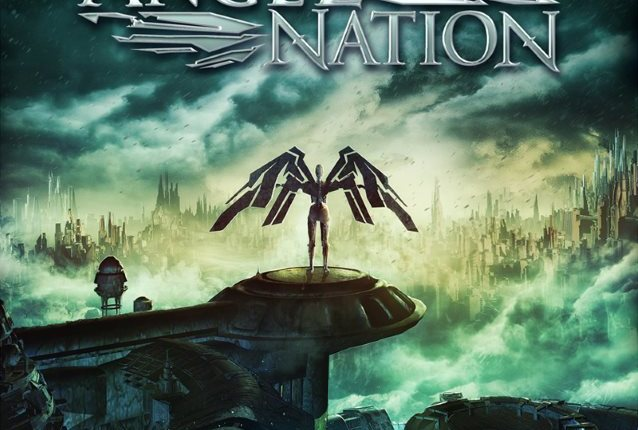 ANGEL NATION Feat. LEAVES' EYES Singer ELINA SIIRALA: 'Breathe Again' Lyric Video