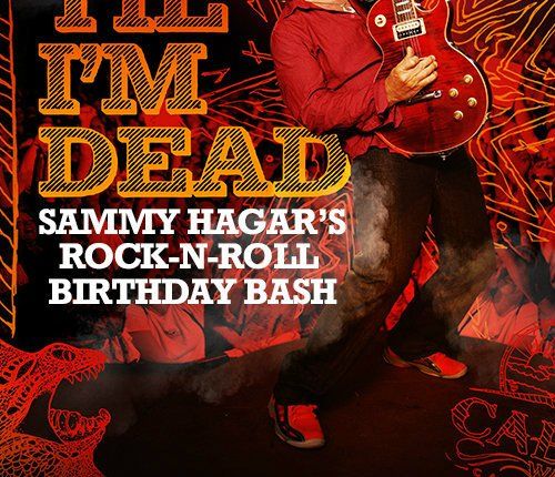 SAMMY HAGAR's 70th-Birthday Film 'Red Til I'm Dead' Coming To Big Screen In December