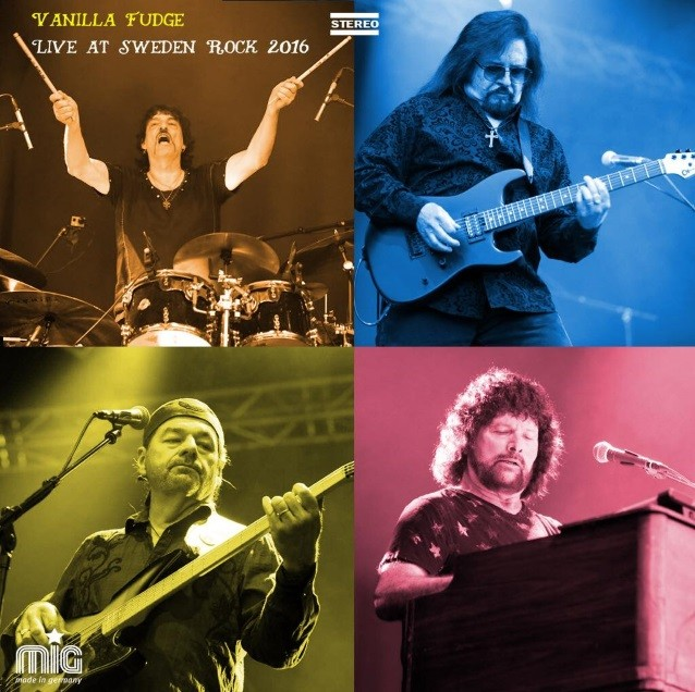 VANILLA FUDGE To Release 'Live At Sweden Rock - The 50th Anniversary' On CD/DVD