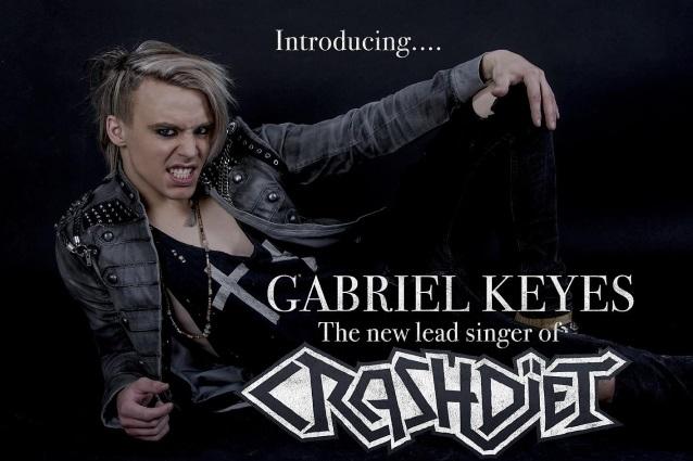 CRASHDÏET Announces New Singer GABRIEL KEYES