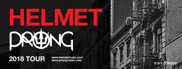 HELMET And PRONG Join Forces For U.S. Co-Headlining Tour
