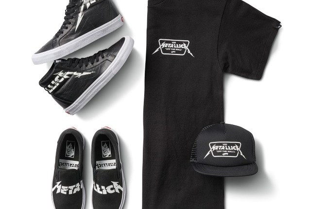 METALLICA Teams Up With VANS For Another Exclusive Footwear Collection
