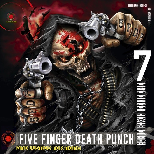 FIVE FINGER DEATH PUNCH To Release 'And Justice For None' Album In May; Massive Summer Tour Announced