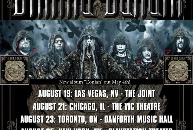 DIMMU BORGIR Announces August 2018 U.S. Tour Dates