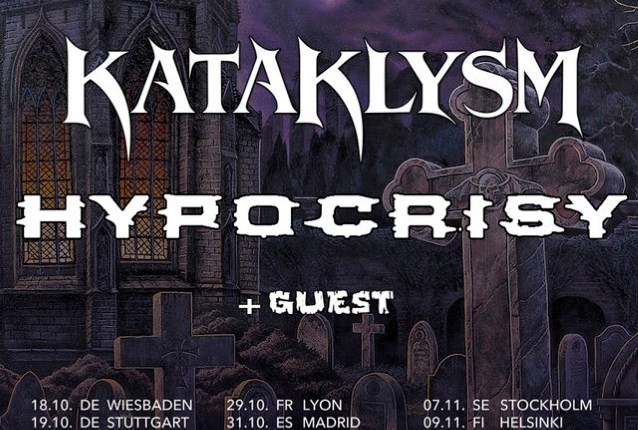 KATAKLYSM And HYPOCRISY To Join Forces For 'Death… Is Just The Beginning' European Tour