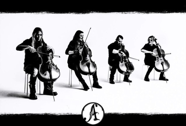 APOCALYPTICA: 'Enter Sandman' Video From 'Apocalyptica Plays Metallica by Four Cellos – A Live Performance'
