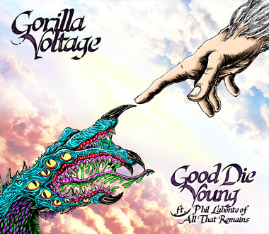 ALL THAT REMAINS Frontman Teams Up With GORILLA VOLTAGE For Rap/Metal Mashup 'Good Die Young'