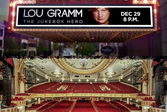 LOU GRAMM Says It's 'Time' For Him To 'Walk Away' From Touring As A Solo Artist
