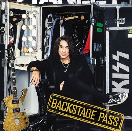 KISS Frontman PAUL STANLEY To Release 'Backstage Pass' Book In April; Cover Unveiled