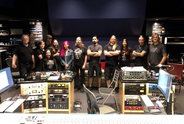 AMON AMARTH Completes Work On New Album With Producer JAY RUSTON