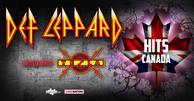 DEF LEPPARD Announces Canadian Tour With TESLA