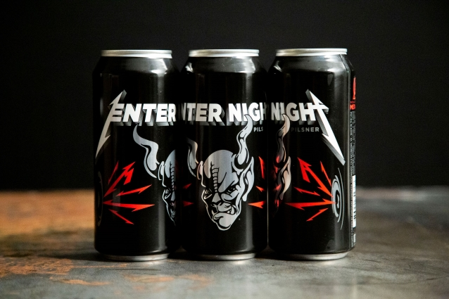 METALLICA And STONE BREWING Announce Collaboration Beer, ENTER NIGHT
