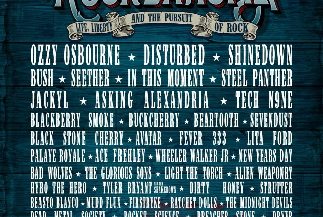 OZZY OSBOURNE, DISTURBED, SHINEDOWN, BUSH Set For ROCKLAHOMA 2019 Festival