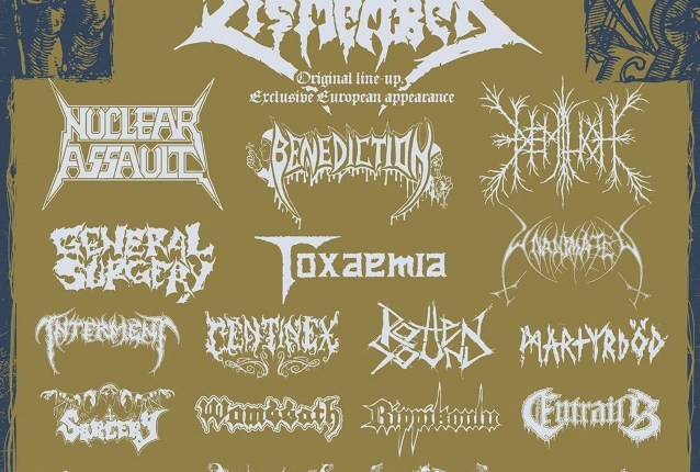 Original DISMEMBER Lineup To Perform At SCANDINAVIA DEATHFEST 2019
