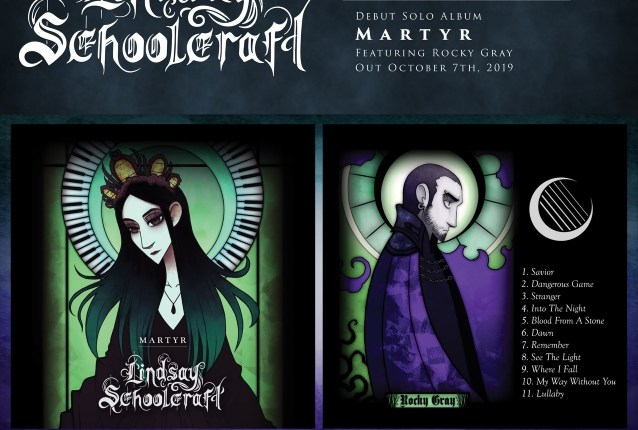 CRADLE OF FILTH Keyboardist/Vocalist LINDSAY SCHOOLCRAFT To Release 'Martyr' Solo Album In October