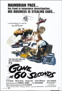 Gone in 60 Seconds Theatrical Poster