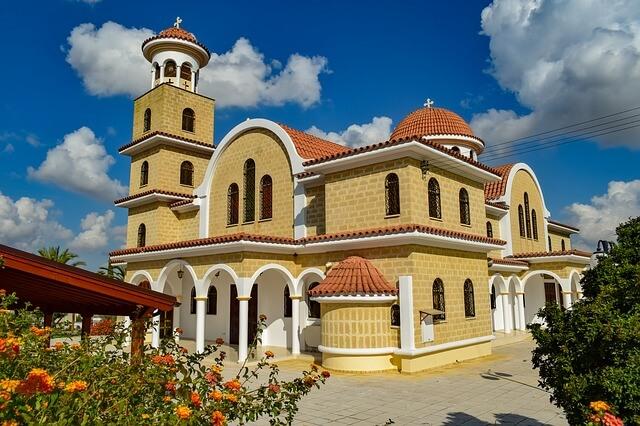 Церковь на Кипре