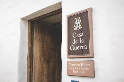 Entrance to Casa de la Guerra