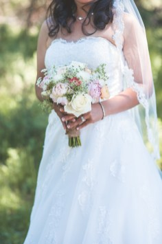 Bridal flowers, in color